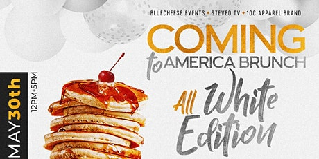 COMING TO AMERICA BRUNCH: ALL WHITE EDITION tickets