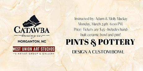 Catawa Brewing Pints & Pottery tickets