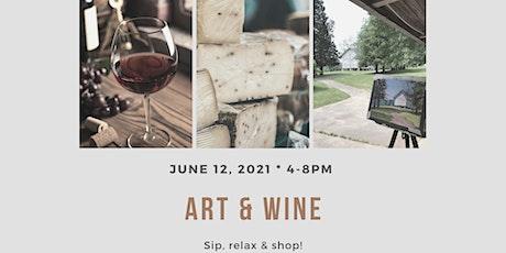 Art & Wine Event tickets
