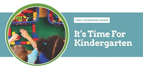 Online: It's Time for Kindergarten: Family Information Session- Reynolds District tickets