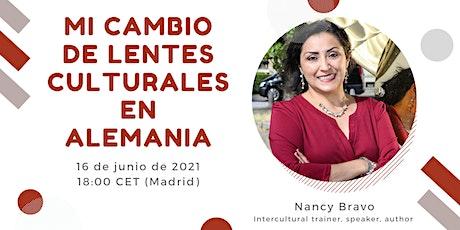 Webinar para promover la formación intercultural: Nancy Bravo entradas