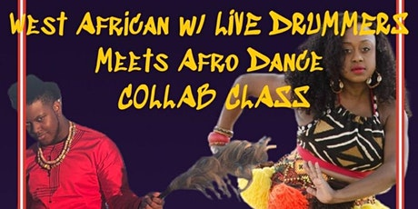 OPEN LEVEL - WEST AFRICAN DANCE WITH LIVE DRUMS MEETS AFRODANCE - MAY 14TH tickets