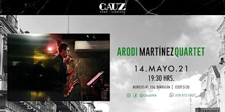 Arodi Martínez Quartet entradas