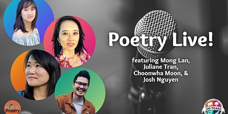 Poetry Live! tickets