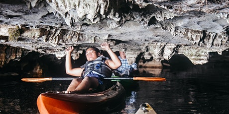Kayak Two Caves in July tickets