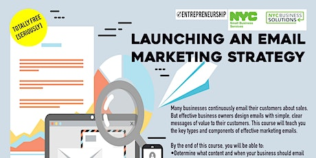 Launching an Email Marketing Strategy_DreamCenterHarlem_Virtual_05/19/2021 tickets