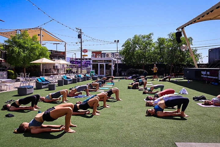 Downtown Yoga In The Park image