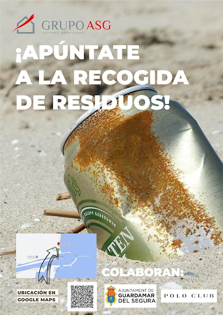 Imagen de Recogida de residuos playa de Guardamar