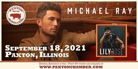 Michael Ray with Lily Rose | Paxton Swine 'N Dine