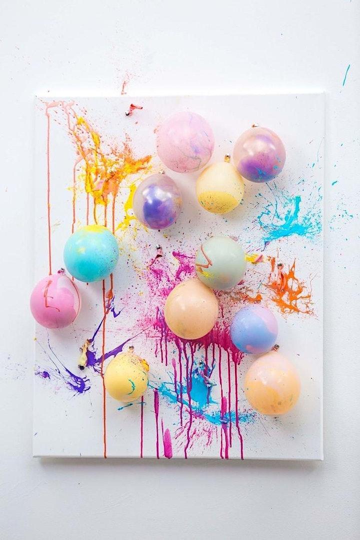 SplishSplashSplatter: Balloon Splatter An Interactive Paint Experience image