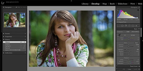 Adobe Lightroom Basics- Online Session - June 30 tickets