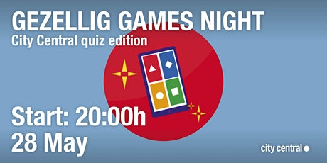 Gezellig Online Games Night: quiz edition tickets