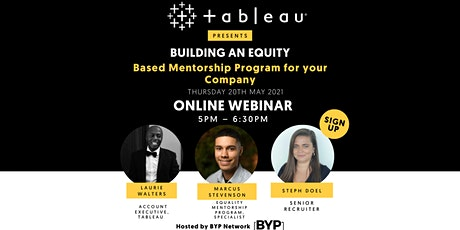 Building an Equity-Based Mentorship Program for your Company tickets
