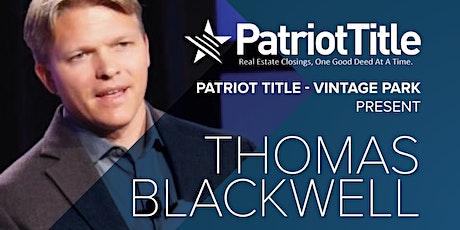 Patriot Title 249 - Thomas Blackwell tickets