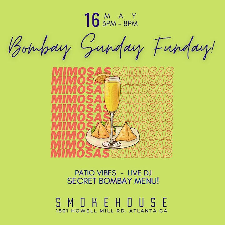 Bombay Sunday Funday at SMOKEHOUSE image