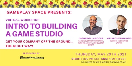 Intro to Building a Game Studio billets