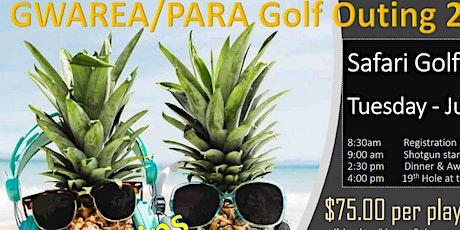 GWAREA / PARA Annual Golf Outing - 2021 tickets