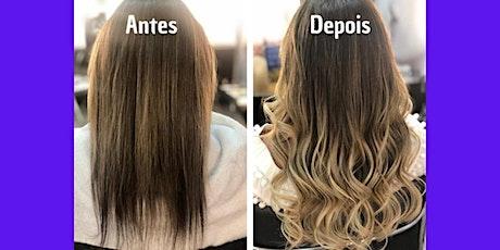 Curso de Mega Hair em Florianópolis ingressos