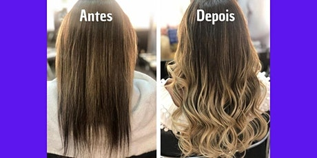 Curso de Mega Hair em Florianópolis bilhetes