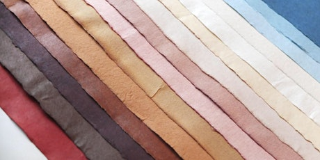 Natural Dyes for Handmade Paper tickets