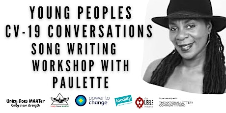 Young Peoples  CV-19 Conversations  in Chapeltown Song Writing workshop tickets
