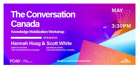 The Conversation Canada  Knowledge Mobilization Workshop tickets