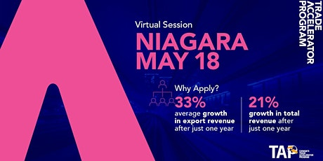 Trade Accelerator Program - NIA Information Session tickets
