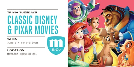 Classic Disney and Pixar Movie Trivia tickets