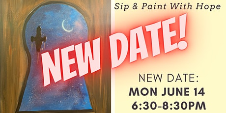 NEW DATE! Sip & Paint with Art of Hope Studios 6/14 tickets