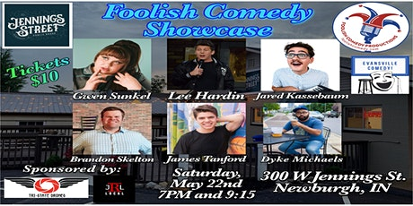 Foolish Comedy Showcase (May) tickets