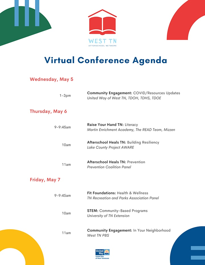 West TN Afterschool Network Virtual Conference image