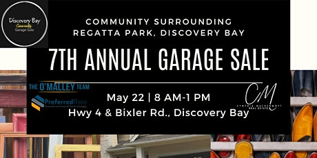 7th Annual Regatta Area Community Garage Sale (not held at the park) tickets