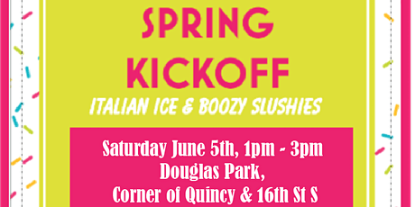 Spring Kickoff with The Kiger Group in Douglas Park tickets