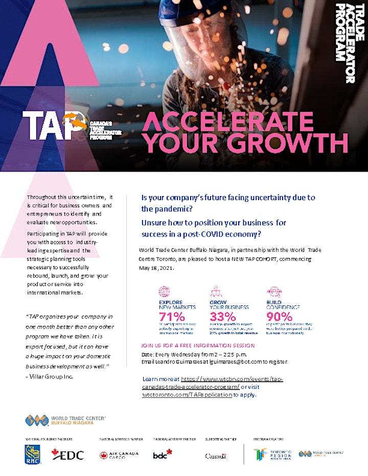 Trade Accelerator Program - NIA Information Session image