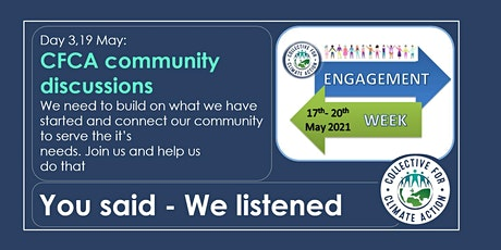 CfCA Engagement Week: CFCA community discussions tickets