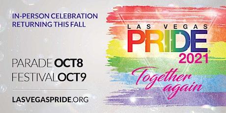 Las Vegas PRIDE 2021 Festival tickets