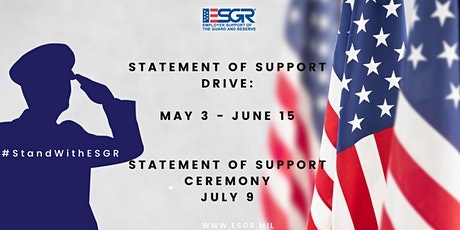 Statement of Support Drive tickets