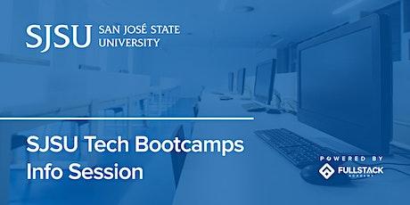 Online Info Session | San José State University Tech Bootcamps tickets