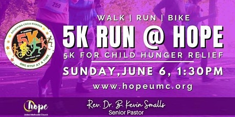 5k Run @ HOPE tickets