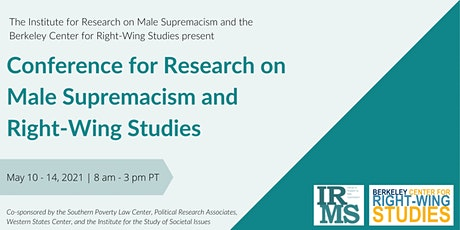 Online Conference for Research on Male Supremacism & Right-Wing Studies tickets