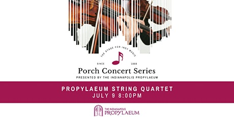 Porch Concert feat. ISO Propylaeum String Quartet tickets
