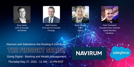 The Finsight Series - Going Digital - Banking and Wealth Management tickets