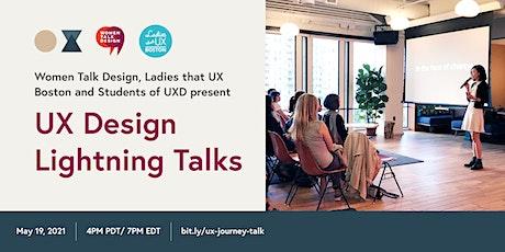 UX Design Lightning Talks tickets