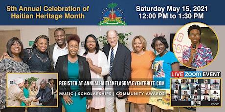 5th Annual Haitian Flag Day tickets