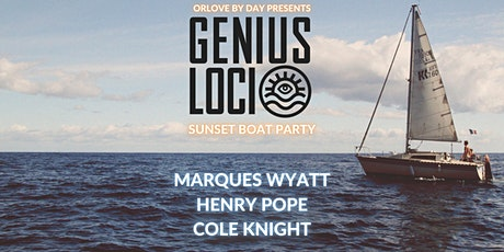 Genius Loci Sunset Boat Party tickets