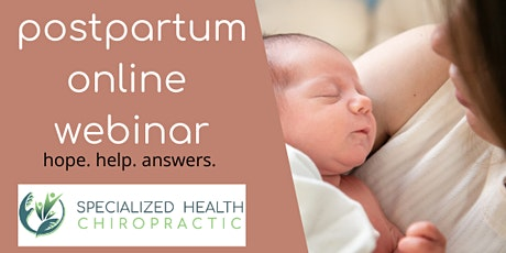 4th Trimester: Postpartum Care Online Webinar tickets
