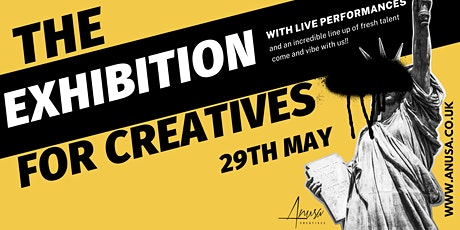 Exhibitions for Creatives by Anusa tickets
