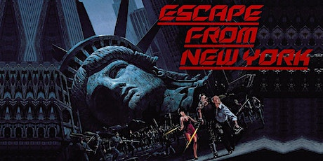 Dinner & Outdoor Movie: Escape From New York @ 7PM tickets