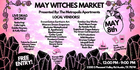 May Witches Market tickets