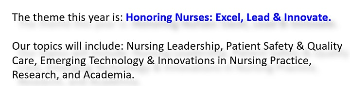 12th Annual Nursing Research Evidence-Based Practice Conference image